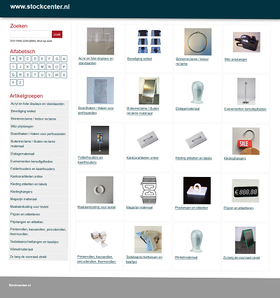 Screenshot neutrale website
